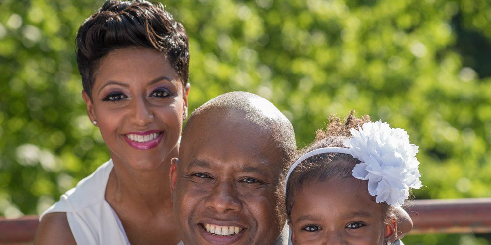 Gessie Thompson pregnant after uterine fibroids