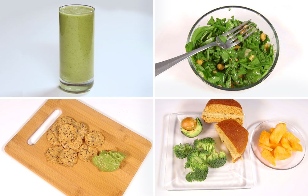 1200 Calories A Day Vegan Diet Meal Plan | Women's Health