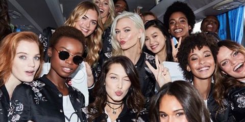 980a30c05 Here's What The Victoria's Secret Models Are Doing In Shanghai ...