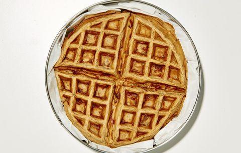 Apple Pie Waffle Bites