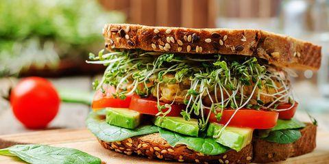 Make a healthy sandwich