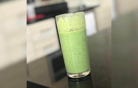 Green and lean shamrock shake