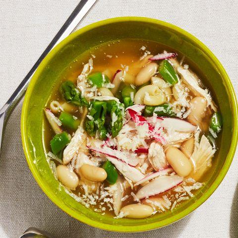 asparagus radish soup