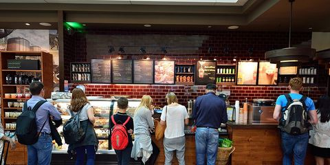 what nutritionists order at starbucks
