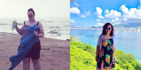 Kelly Chase before and after weight loss