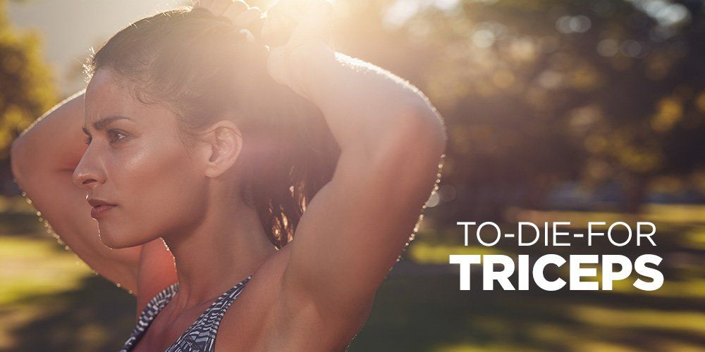 The Ultimate Triceps Workout for Tight AF Arms