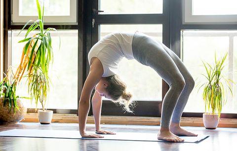 7 yoga poses that burn major calories  women's health