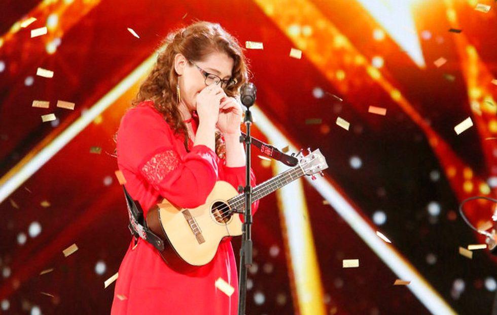 Deaf Singer Mandy Harvey Blows Simon Cowell Away
