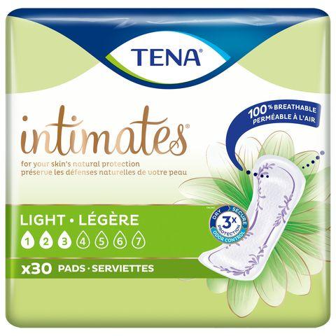 tena light pads