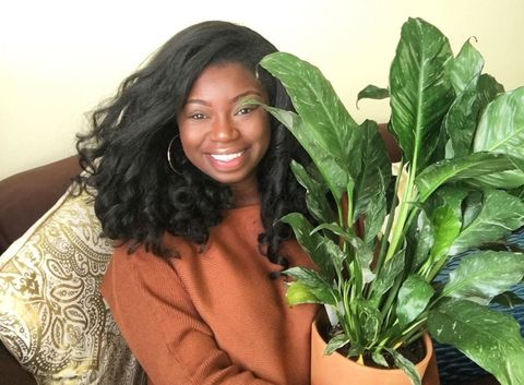 black women plants