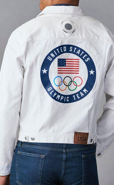 ralph lauren替2020東京奧運設計的衣服