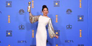 Sandra OhNBC's '76th Annual Golden Globe Awards' - Press Room