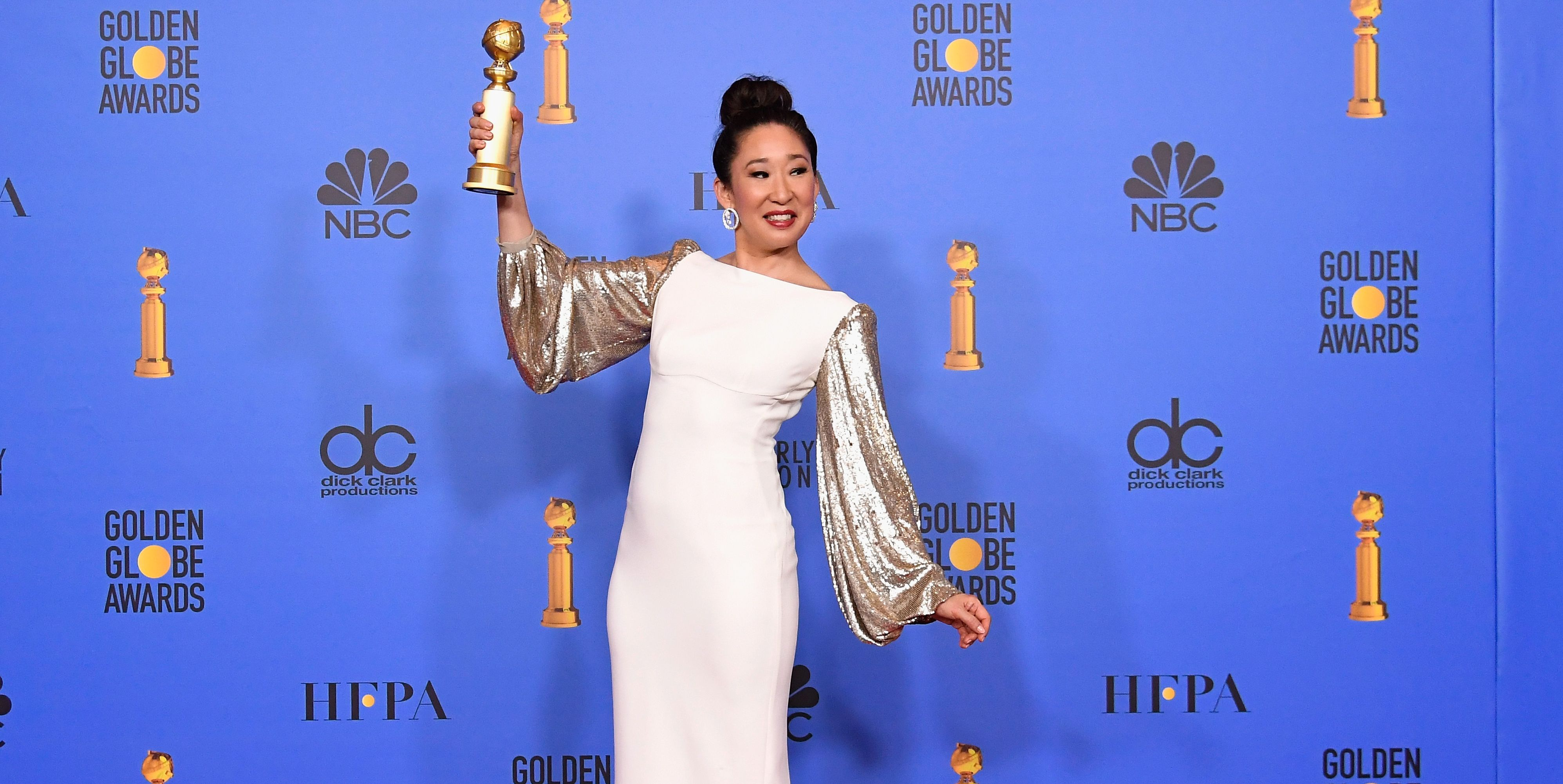 Sandra Oh NBC's '76th Annual Golden Globe Awards' - Press Room