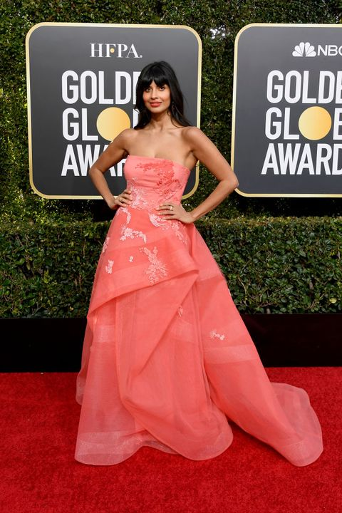 best red carpet dresses from the 2019 golden globes