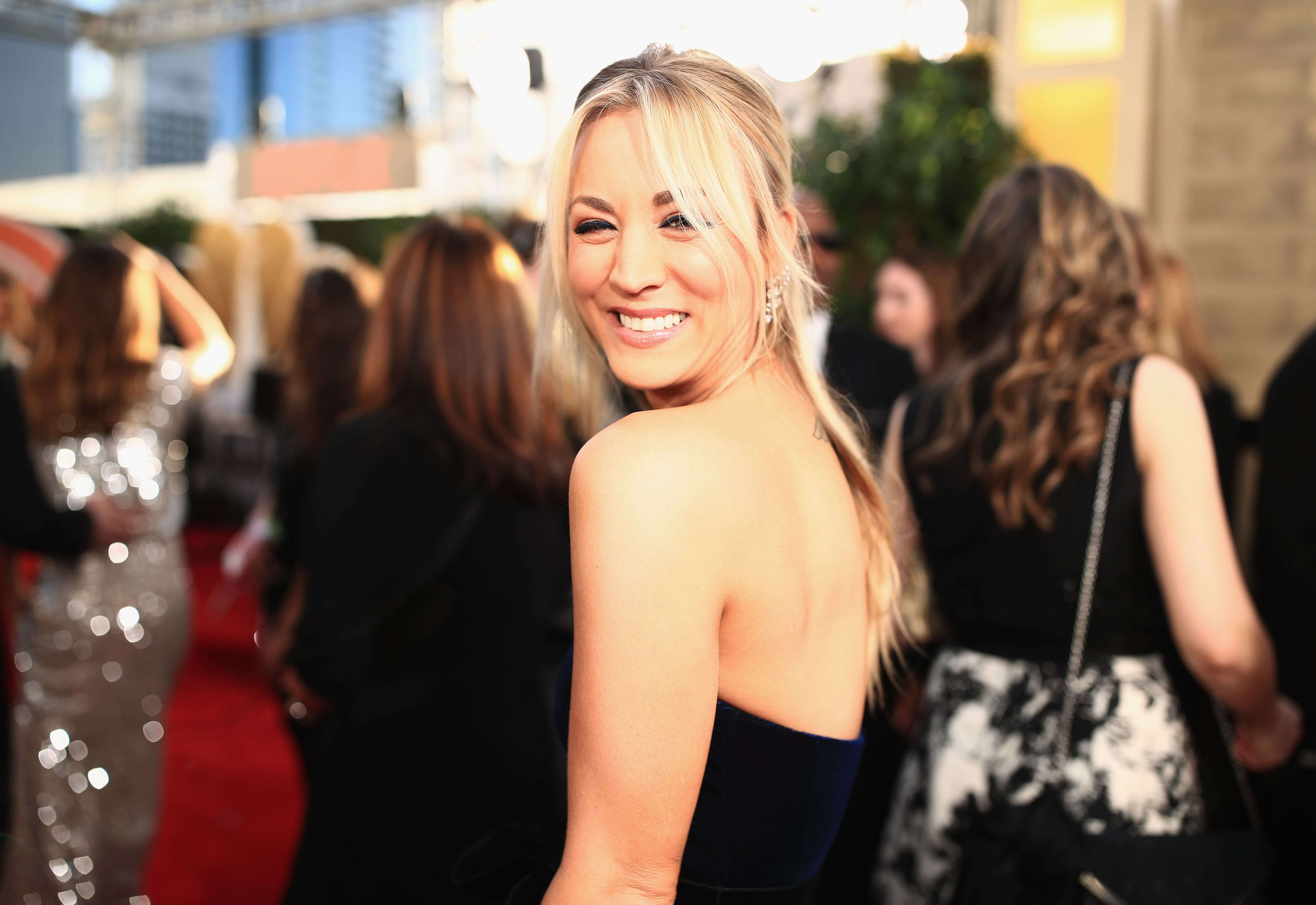 'Big Bang Theory's' Kaley Cuoco Just Posted Her Intense Workout To Instagram