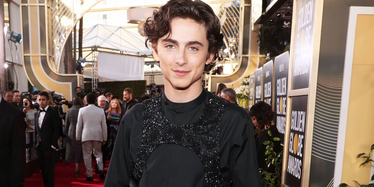 Timoth 233 E Chalamet Golden Globes 2019 Outfit
