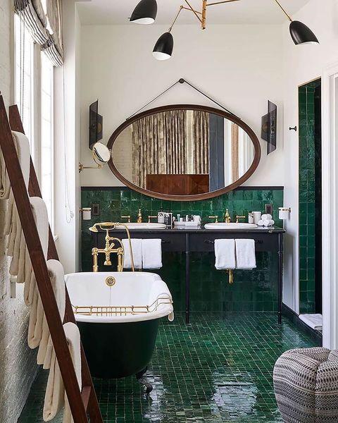 baños verdes