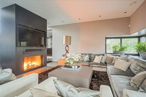 Living room, Room, Property, Interior design, Furniture, Fireplace, Home, Building, Hearth, House,