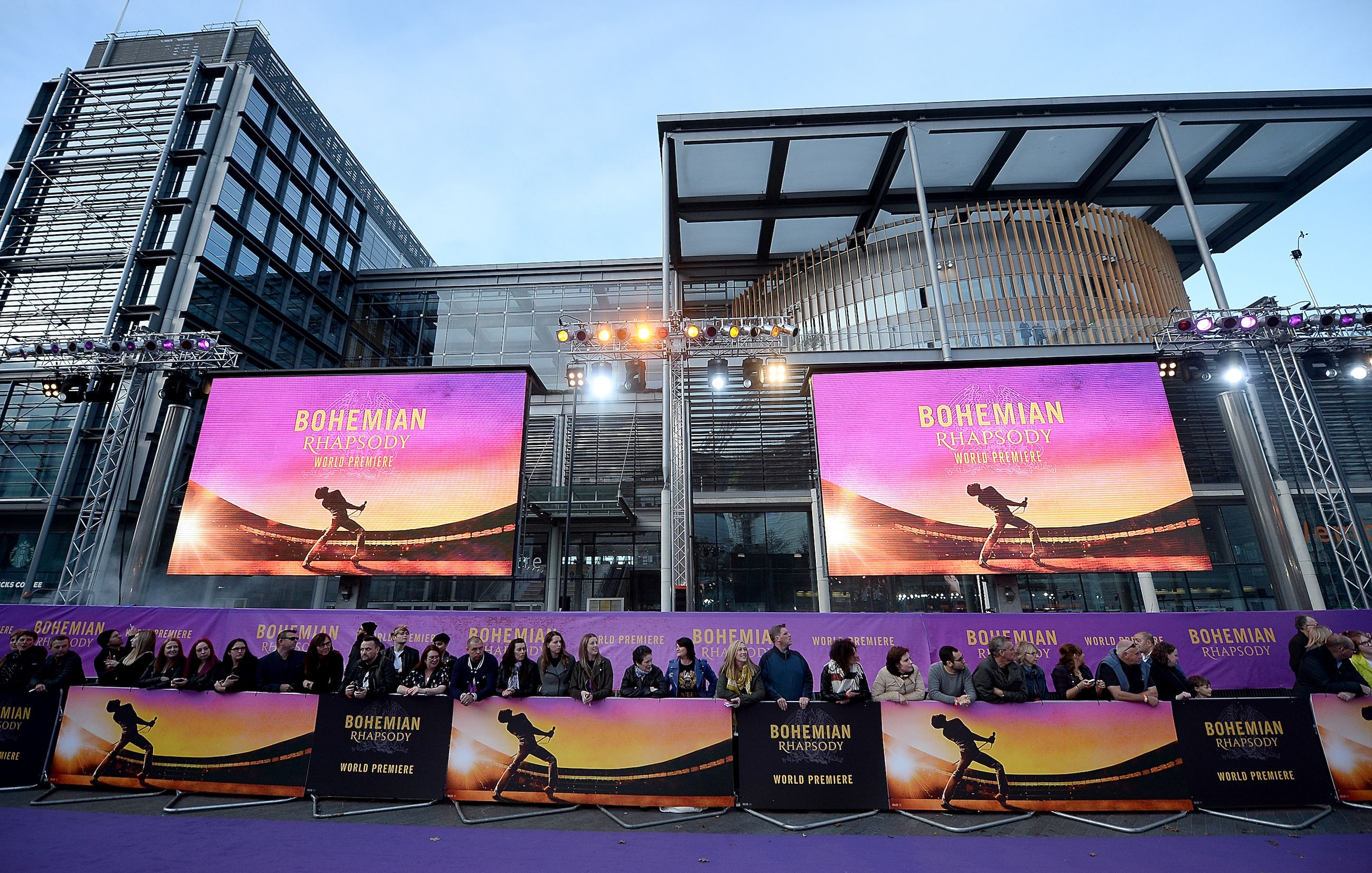 'Bohemian Rhapsody' World Premiere At The SSE Arena Wembley