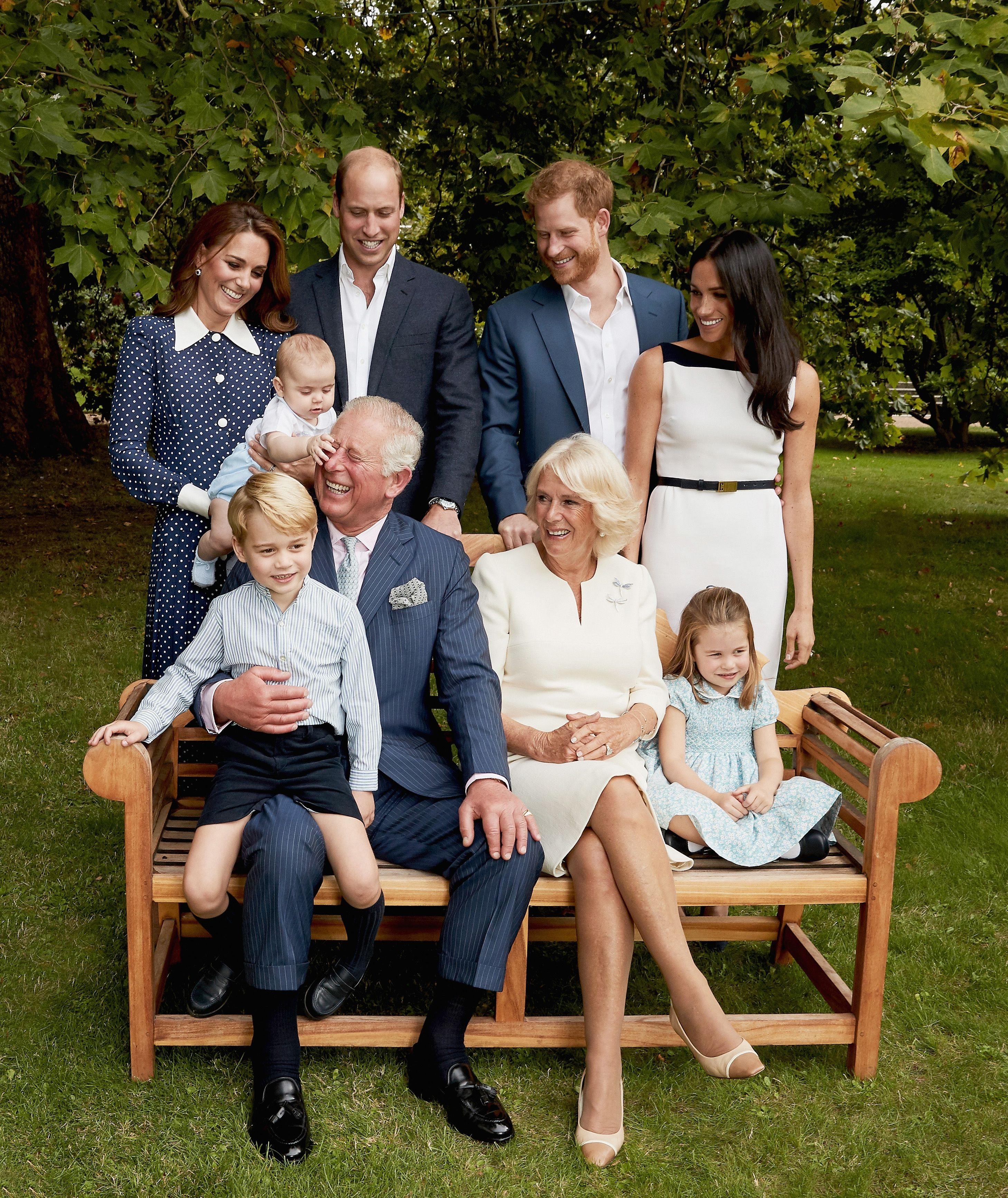 Prince Charles 70th birthday portrait is a sweet family photo picture
