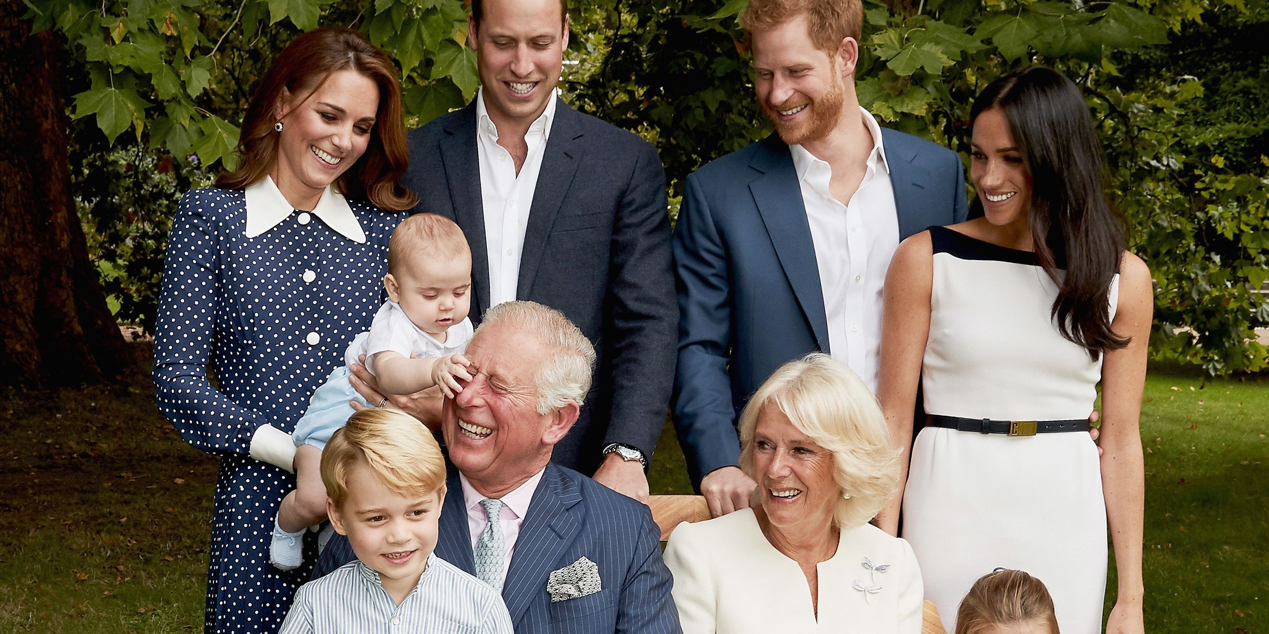 Photo Gifts For Grandparents >> Prince Louis & Prince Charles Share a Special Moment in 70th Birthday Family Portraits
