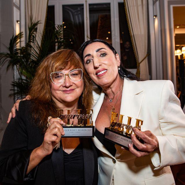 elle gourmet awards 2021 isabel coixet rossy de palma