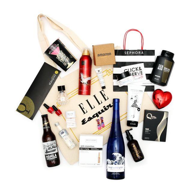 Goodie Bag de la fiesta de Navidad 2019 de ELLE y Esquire