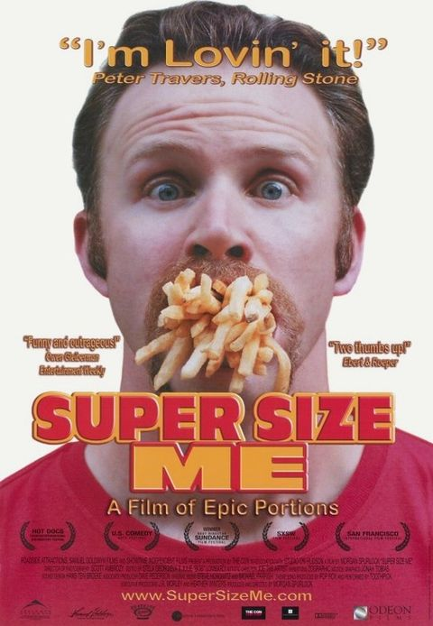 Junk food, Poster, Dish, Cuisine, Food, Fast food, Movie, American food, Photo caption, Snack,