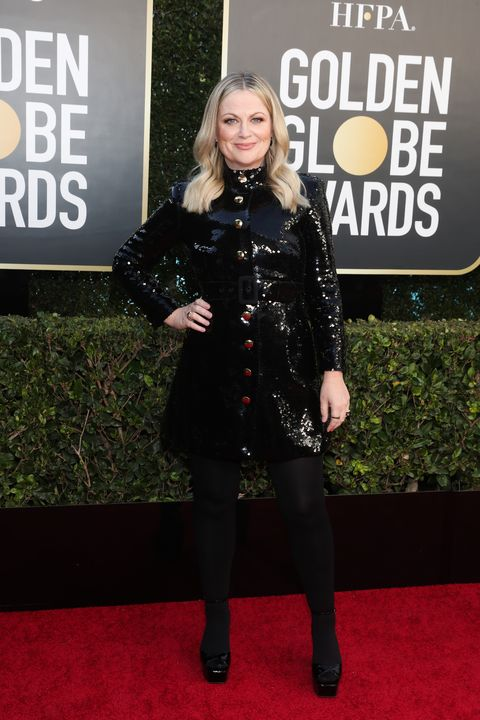 """amy poehler nbc's """"78th annual golden globe awards""""   red carpet arrivals"""