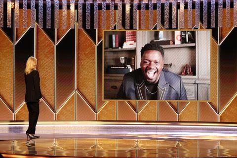 "nbc's ""78th annual golden globe awards""   show"