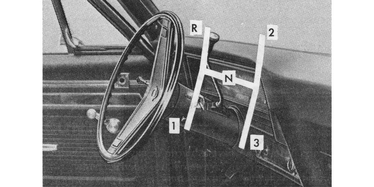 What Was the Last 3-On-the-Tree Column-Shift Manual Car Americans Could Buy?
