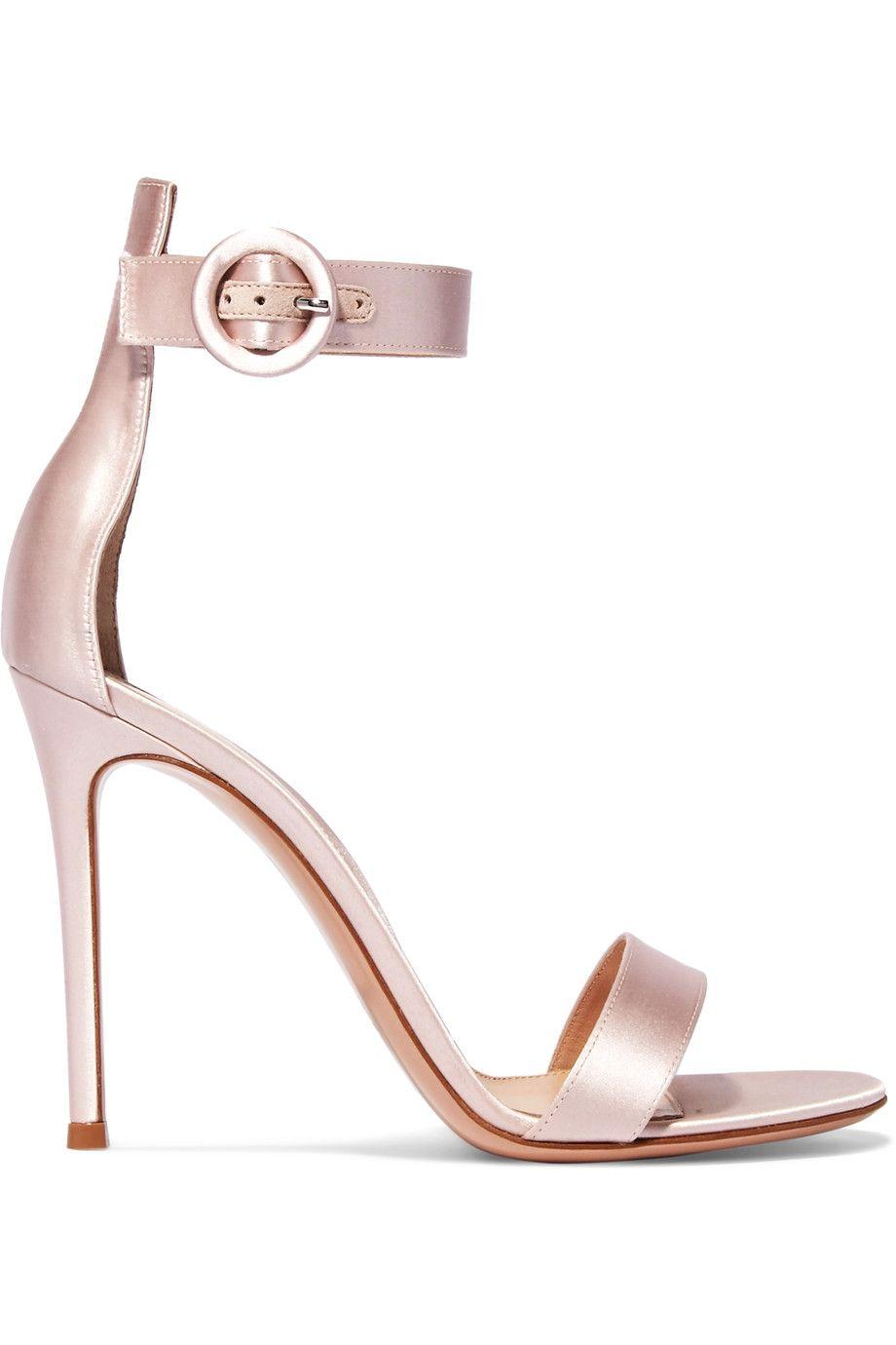 PAUL ANDREW Flora Metallic Leather Sandals Gr. IT 37.5