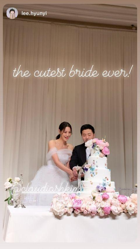 Bride, Photograph, Gown, Dress, Wedding dress, Pink, Bridal clothing, Ceremony, Flower Arranging, Wedding,