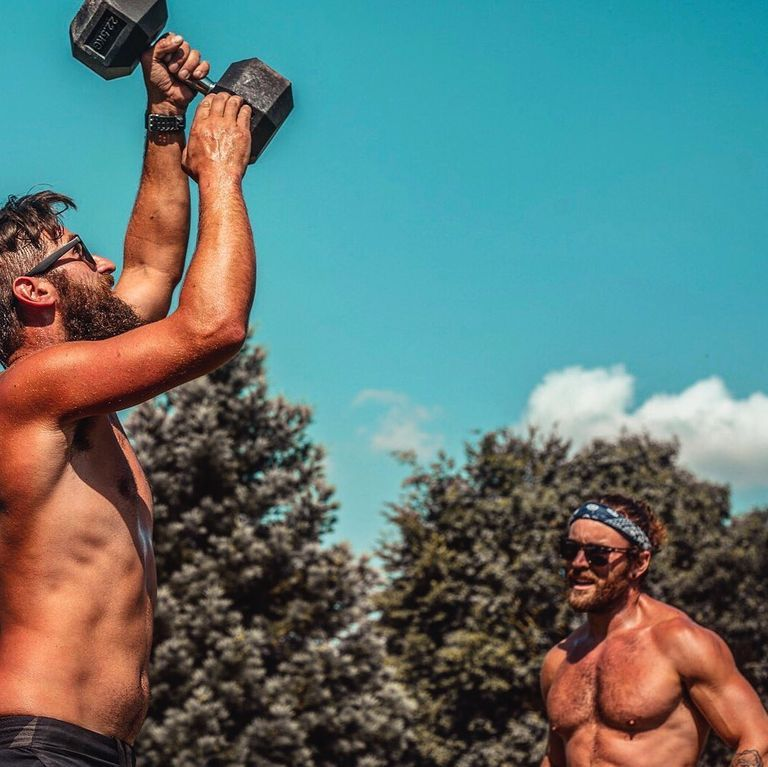 Outdoor Partner Workout: Burn Body Fat In The Sun With Our Teamwork Challenge