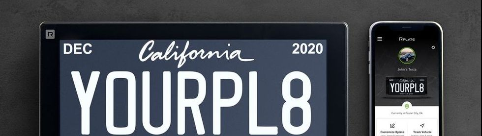 Digital License Plates Coming to Michigan In 2021 after Debut in California