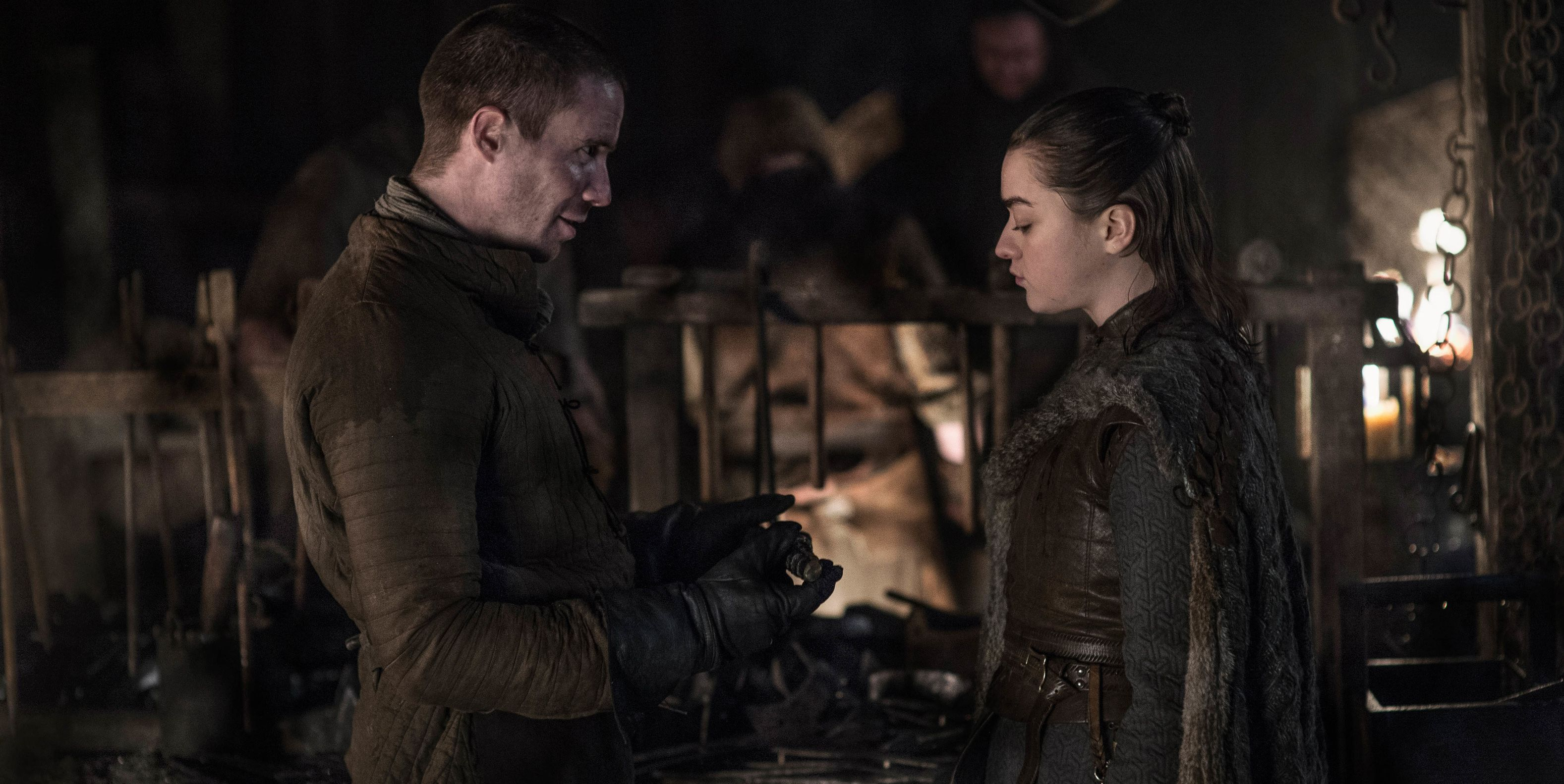 Twitter Is Flipping Out Over *THAT* Gendry and Arya Scene on 'Game of Thrones'