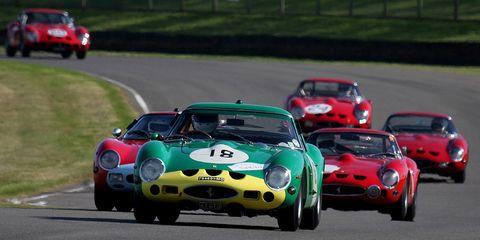 Land vehicle, Vehicle, Car, Sports car, Race car, Coupé, Classic car, Sports car racing, Race track, Racing,