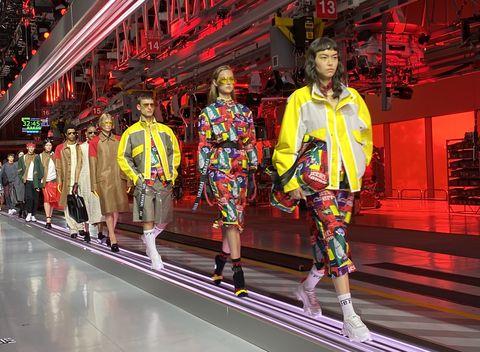 ferrari fashion show 2021