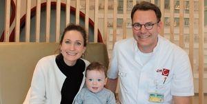 Barbara Ballendux, Julius en kinderchirurg Joep