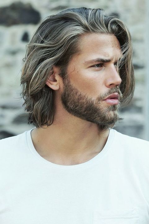 Hair, Facial hair, Beard, Face, Hairstyle, Moustache, Chin, Eyebrow, Long hair, Neck,