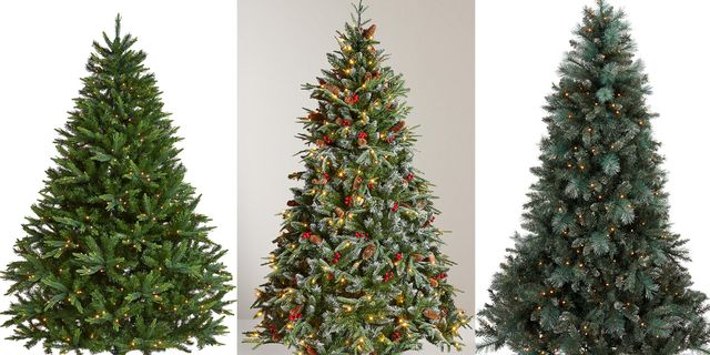 d0567220a5a9 Best Pre-Lit Christmas Trees - 7ft Pre Lit Christmas Trees To Buy