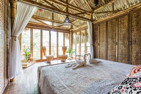 Property, Room, Interior design, Building, Ceiling, Bedroom, Furniture, House, Bed, Real estate,