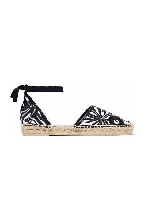 Footwear, Shoe, Sandal, Espadrille, Slingback, Beige, Wedge,