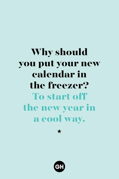 new years joke  calendar