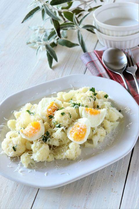 カリフラワーのオリーブオイル煮