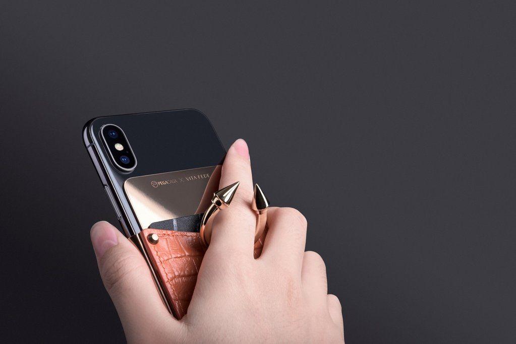 Vita Fede, Pegacasa, 聯名, 手機殼, 戒指, 指環手機殼, 金屬, 飾品, 手機殼支架, 潮人, iPhone, iPhone X, iPhoneXS