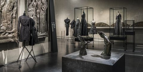 Balenciaga Exhibition At Musee Bourdelle