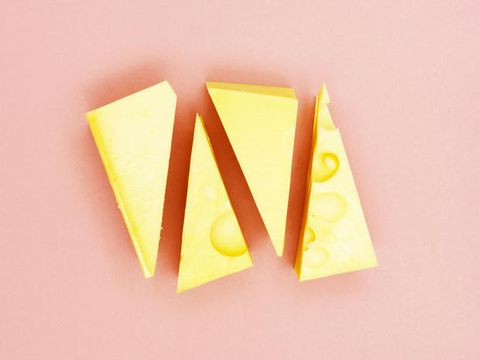 Yellow, Paper product, Triangle, Paper, Peach, Star, Construction paper,