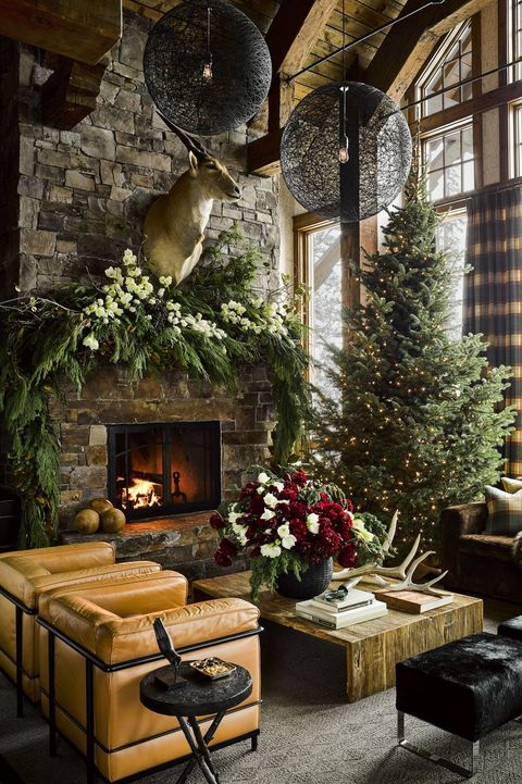 16 Stone Fireplace Ideas - Rustic & Modern Fireplaces With ...