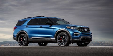 New Ford Explorer >> 2020 Ford Explorer St Revealed New 400 Hp Explorer At The